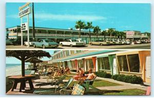 Georgian Terrace Apartments Panama City Florida Vintage Postcard D82