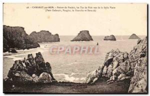 Old Postcard Camaret sur Mer Pointe de Penhir the Tas de Pois Green Room Views