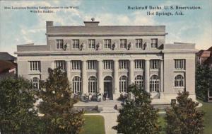 Arkansas Hot Springs Buckstaff Baths Curteich