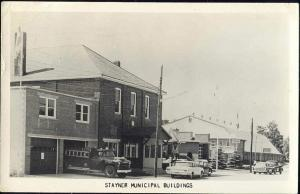 canada, STAYNER, Ontario, Fire Engine, Municipal Blds (1967)