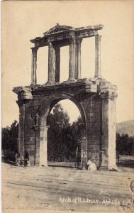 Arch of Hadhan, Athens, Greece, 00-10s