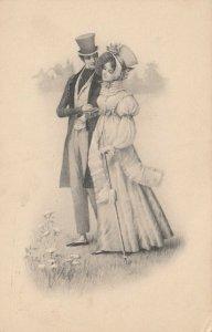 M.M.VIENNE Nr. 391 , 1900-10s , Romance Couple : M. MUNK ; #2