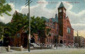 Roxbury High School Roxbury MA 1908