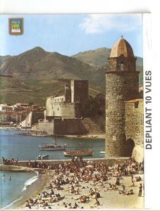 Postal 038561 : Le celebre clocher et leglise Saint Vincent