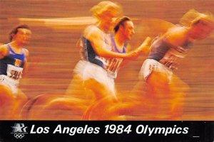 Los Angeles 1984 Olympics Track and Field Olympic Unused