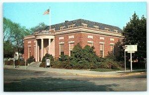 Postcard DE Georgetown US Post Office  D10