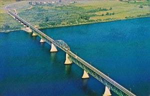 Princess Margaret Bridge Fredericton New Brunswick Canada