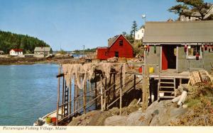 ME - Fishing Village