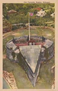 Bahamas Nassau Fort Fincastle Curteich