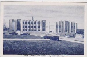Indiana Versailles Tyson School And Auditorium