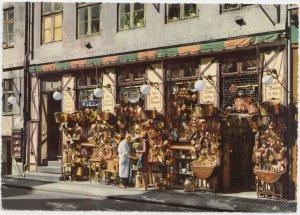 KOBENHAVN, COPENHAGEN, Denmark, Fiolstraede, Antikforretning, Antique shop