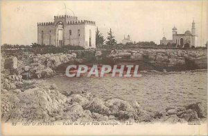 Postcard Old Cap d'Antibes Cape Point and Villa Mauresque