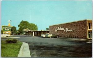 Columbus, Ohio Postcard HOLIDAY INN WEST Motel View I-40 Roadside c1970s Unused