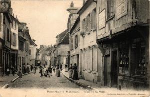 CPA PONT-Ste-MAXENCE - Rue de la Ville (259492)