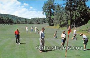 Golf Postcard South Fallsburg, NY, USA Flagler