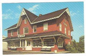 Exterior, The Depot-Gifts, Harding Township, New Jersey,  40-60s