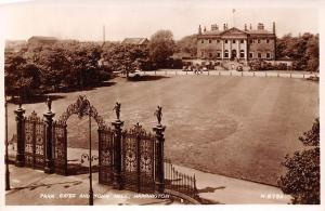 Park Gates and Town Hall Warrington