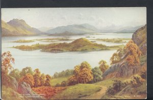 Scotland Postcard - The Islands, Loch Lomond From Camstradden Hill  RS16673