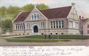 Maine Augusta Lithgow Library 1906