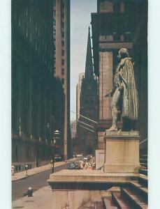 Unused Pre-1980 WALL STREET New York City NY G4806-12