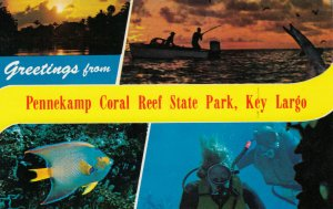 KEY LARGO , Florida , 50-60s ; Greetings, Pennekamp Coral Reef State Park