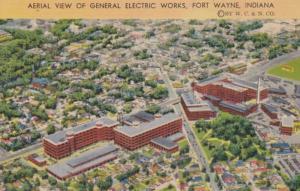 Indiana Fort Wayne Aerial View Of General Electric Works