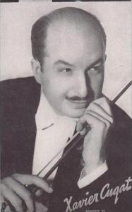 Vintage Mutoscope Card Xavier Cugat