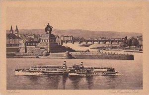 Germany Koblenz Das Deutsches Eck
