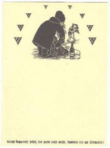 Beer Advertising postcard , 30-40s ; Bayern , Germany 10/10