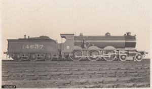 Great Northern Railway 14637 Train Antique Real Photo Postcard