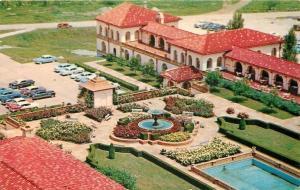 Lee's Summit Missouri~Tower Rose Garden~Snack Bar Patio~Unity Inn~1950s PC