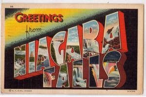 Large Letter, Niagara Falls NY