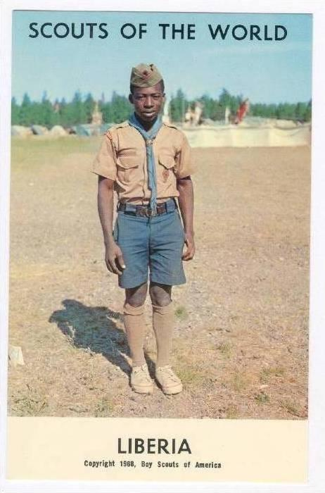 Scouts Of The World, Boy Scouts Of America, LIBERIA, 1968