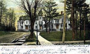 Putnam Hall School Poughkeepsie NY 1906