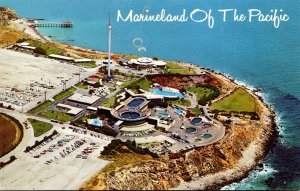 California Palos Verdes Aerial View Marineland Of The Pacific 1970