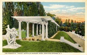NY - Saratoga Springs. Yadoo, Estate of Spencer Trask