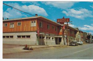 CLINTON, British Columbia, Canada, 1940-1960´s; Frontier Hotel, Classic Cars