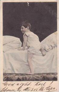 PFB Serie 2935 Young Boy Going To Bed