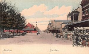 South Africa Durban Pine Street postcard