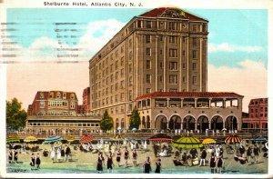 New Jersey Atlantic City The Shelburne Hotel 1922
