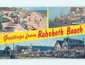 Pre-1980 SHOPS ALONG STREET Rehoboth Beach Delaware DE AE9305