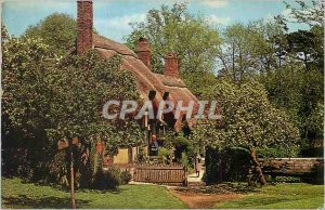 Postcard Modern Anne Hathaways Cottage Stratford upon Avon Shottery from the ...