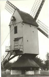 belgium, GEEL, Molen Elsummolen, Mill (1970s) RPPC