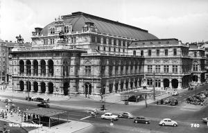 Austria Wien Staatsoper Vienna State Opera house animated echte photo