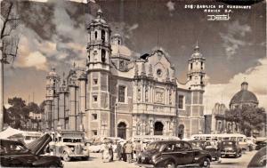 MEXICO CITY~BASILICA de GUADALUPE~REAL PHOTO POSTCARD