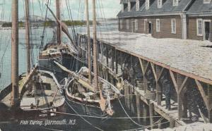 YARMOUTH , Nova Scotia , Canada , 00-10s ; Fish Curing