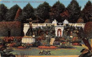 Potsdam Sizilianischer Garten Mit Dem Bogenschuetze Hippostcard