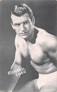 Richard Egan Non Postcard Backing Unused