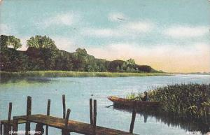 Ormesby Broad, Yorkshire, England, UK, 1900-1910s