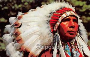 Indian Chief Photo by A Devaney, Inc Postcard Post Cards Photo by A Devaney, ...